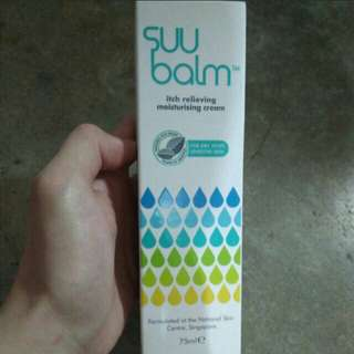 SUU Balm itch relieving moisturising cream