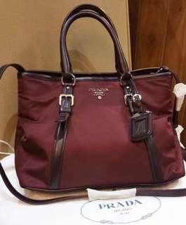 Prada Nylon 2way Bag
