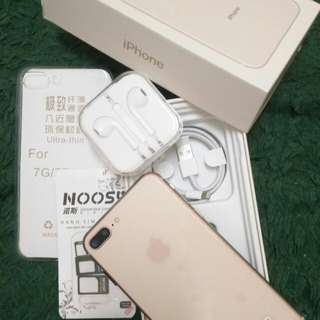 HDC iPhone 8+ Real Network 4G & Real Fingerprint IOS 11 Blush Gold 128 gb real
