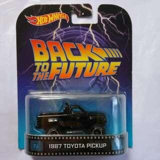Hotwheels 1987 Toyota Pickup Back To The Future Retro