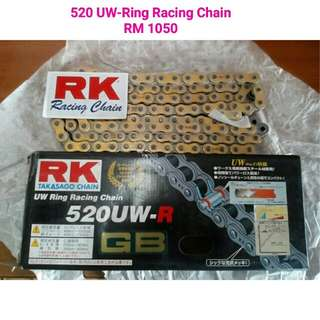 RK 520 UW-Ring Racing Chain