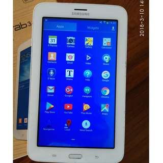 "EXCELLENT CONDITION Samsung Tab 3 Lite 7"" (8GB Int + 32GB SD) Android 4.2.2 / WiFi (not SIM)"