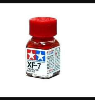 Tamiya XF-7 Enamel Flat Red Paint