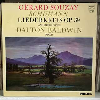 Schumann Songs Gerard Souzay PHILIPS SAL 3606