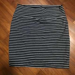 Cotton On Stripe Bandage Skirt