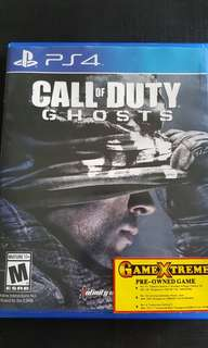 "PS4 game ""Call of Duty - Ghosts"""