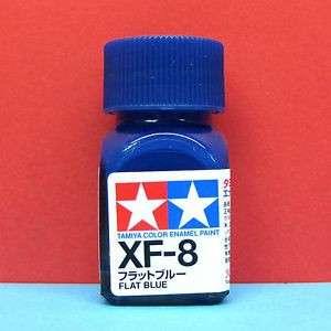 Tamiya XF-8 Enamel Flat Blue Paint