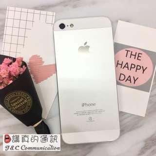 iPhone5 16G 銀❤️