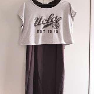 Nursing Dress (2 piece)