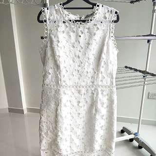 Alyssandra Guipure Lace Dress XL