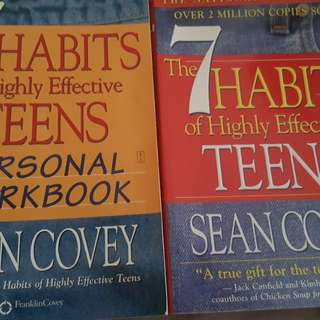 Books 7 habits of highly effective teens with workbook