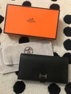 Hermes wallets new black