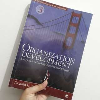 Organizational Development by Anderson