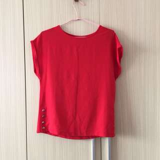 BN Red Blouse by Dorothy Perkins XS