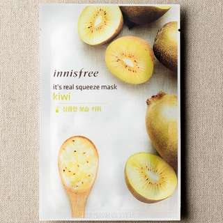 BN Innisfree It's Real Squeeze Facemask (Kiwi)