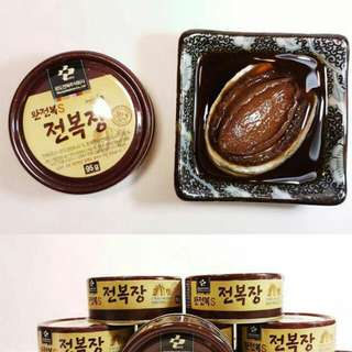 韓國🇰🇷莞島原隻醬油鮑魚❗️買 5 罐送 1 罐