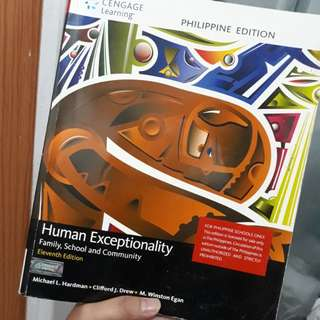 Human Exceptionality by Hardman