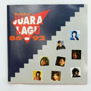 """Malay CD """"Koleksi JUARA LAGU"""" 86-94"""