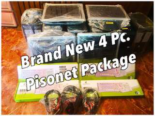 Brand New 4 Pc. Quadcore Pisonet Package