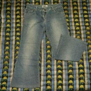 Jeans jaman old
