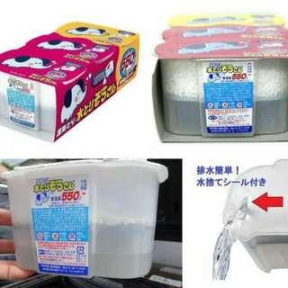 日本製🇯🇵岡本🐘大象衣櫃防黴吸濕劑(550mlx3盒)