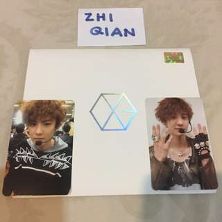 [READY STOCK] EXO MAMA WITH CHANYEOL PHOTOCARD