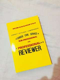 Career Civil Service Reviewer