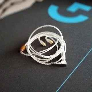 4絞純銀耳機升級線(MMCX)