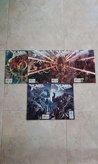 "X-Men Legacy Vol 1 (Marvel Comics 6 Issues; #219 to 224,complete story arc on ""Salvage"")"