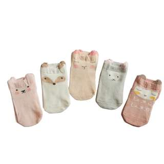 Pastel Baby Socks for Baby Boys and Girls From 0-3 Years Old