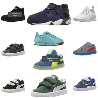 Puma kids sneaker shoes