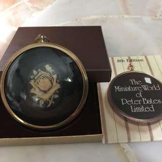 Peter Bates miniature cameo