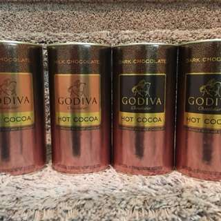 🌬☕️ 現貨 Godiva Hot Cocoa 熱朱古力可可粉