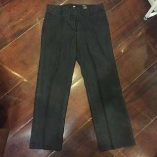 H&M Dark Grey Lined pants