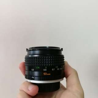 Minolta MC Rokkor X 50mm f1.4
