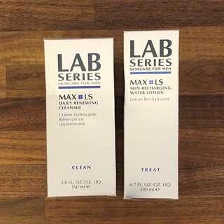 LAB SERIES cleanser & lotion // 洗面乳 & 爽膚水