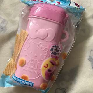 Hello kitty biscuits container