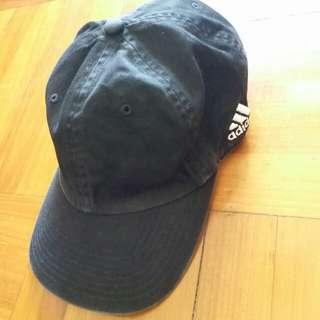 正版Adidas黑色帽