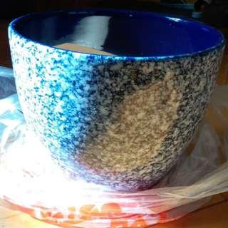 藍色花盆(Flower pot)