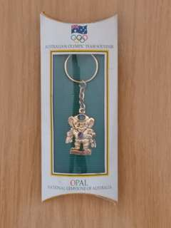 Australian Olympic team souvenir key-chain