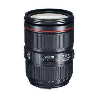 Canon 24-105mm f4L EF IS USM II Lens