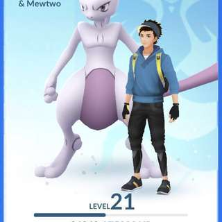 Cheap Mewtwo account for sell - Pokemon go