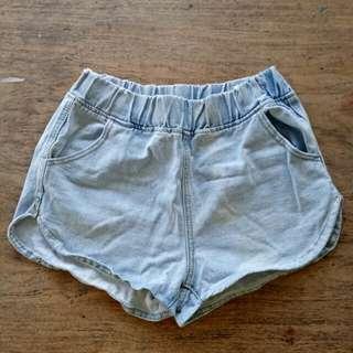 Denim Dolphin Shorts
