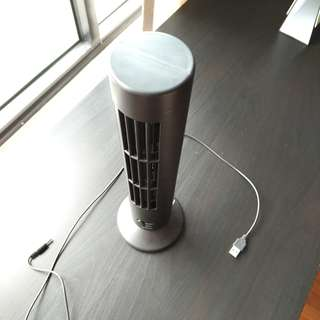 Standing USB Fan with 2 speeds