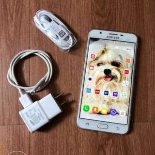 Samsung J7 Prime Duos Gold Slightly Negotiable