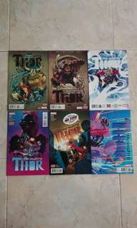 "The Mighty Thor Vol 2 (Marvel Comics 6 Issues; #6 to 11; complete story arc on ""Lords of Midgard"")"