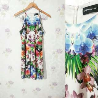 Tropical Flora Dress