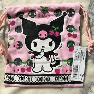 Kuromi Drawstring Bag