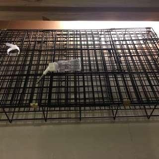 貓狗籠九成新自行來取(八里區關渡橋附近)長75.5公分高47.5公分大概是這樣尺寸謝謝🙏