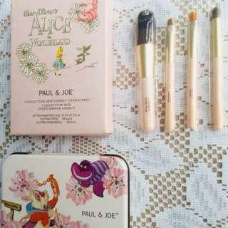 Alice In Wonderland Paul And Joe  Box And Free Etude House Brushes